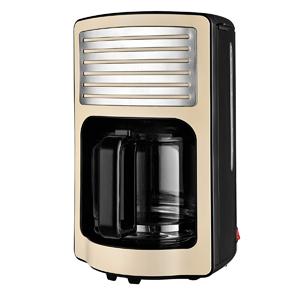 Team Kalorik Cafetera de filtro con capacidad de 1,8 L, Jarra de vidrio, Hasta 15 tazas, 1000 W, Beige, TKG CM 2500: Amazon.es: Hogar