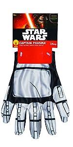 captain phasma child costume gloves
