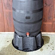 barrel with stand