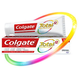 Colgate Total toothpaste tooth paste antibacterial fluoride Oral Care Dental Care Mouth cavities