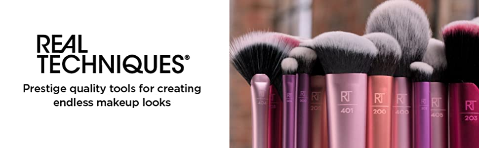 real techniques- prestige quality tools for creating endless makeup looks