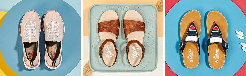 Rieker Chaussures anti-stess printemps été
