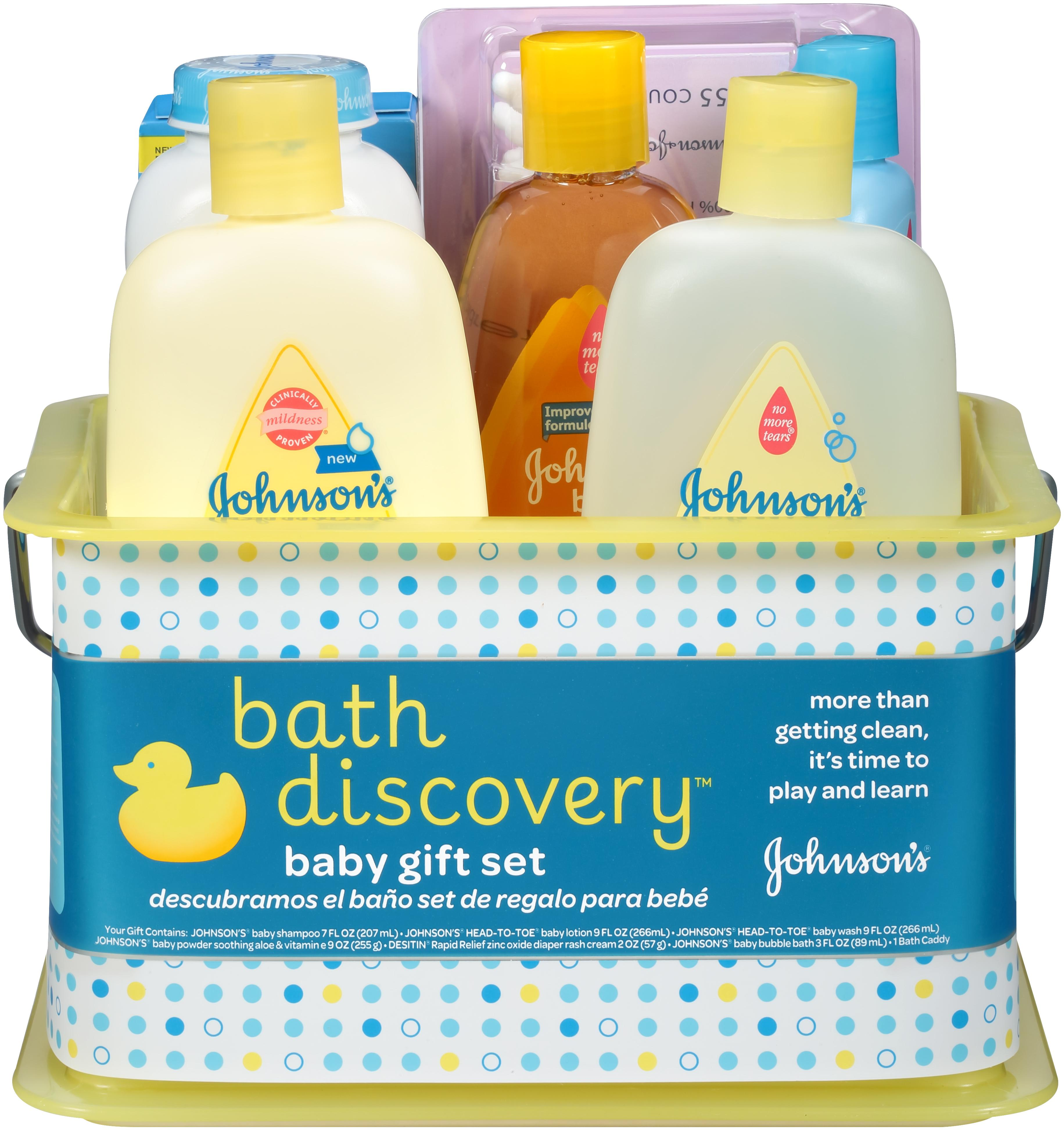 Amazon.com: Johnson\'s Bath Discovery Gift Set For Parents-To-Be ...