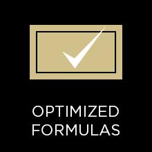 Optimized formulas
