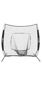Champion Sports Baseball Pitching and Batting Practice Net RBM77