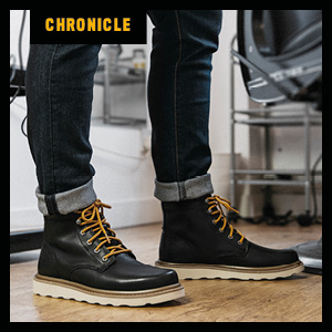 Caterpillar Chronicle Leather Boots