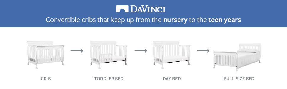 Amazon DaVinci Kalani 4 In 1 Convertible Crib With