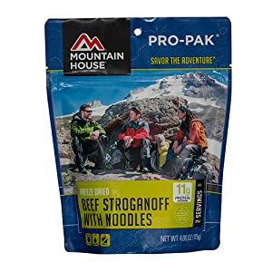 Mountain House beef stroganoff with noodles pro-pak product image