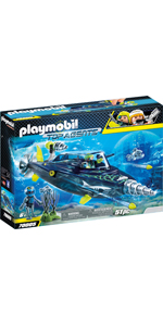 PLAYMOBIL Top Agents Team S.H.A.R.K. Perforadora, A partir de 6 ...