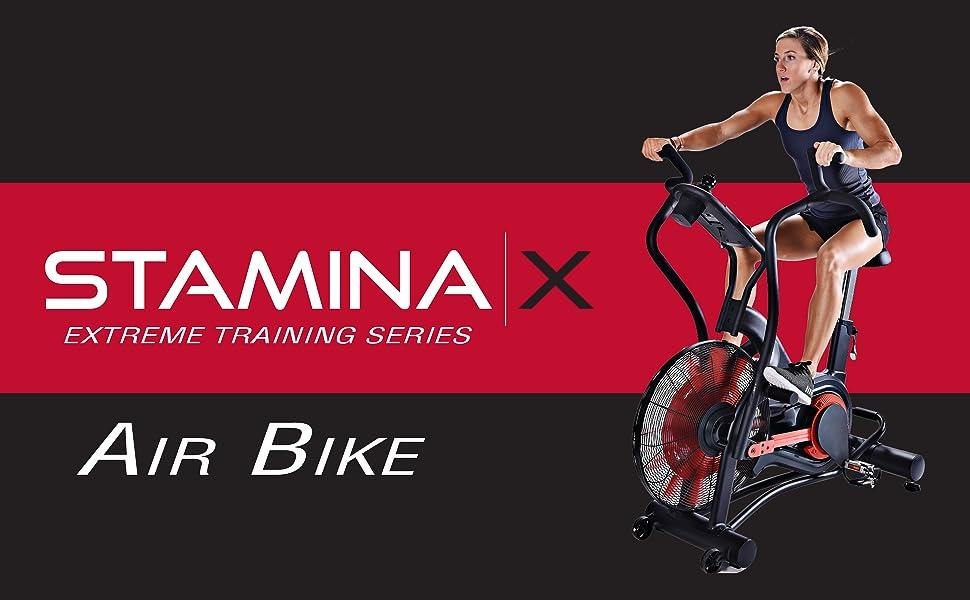 stamina x air bike extreme training series
