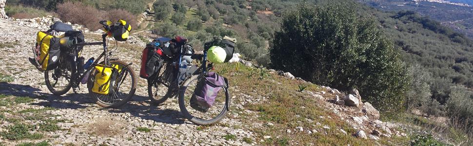 Bikepacker bovenbuistas voorbouwtas