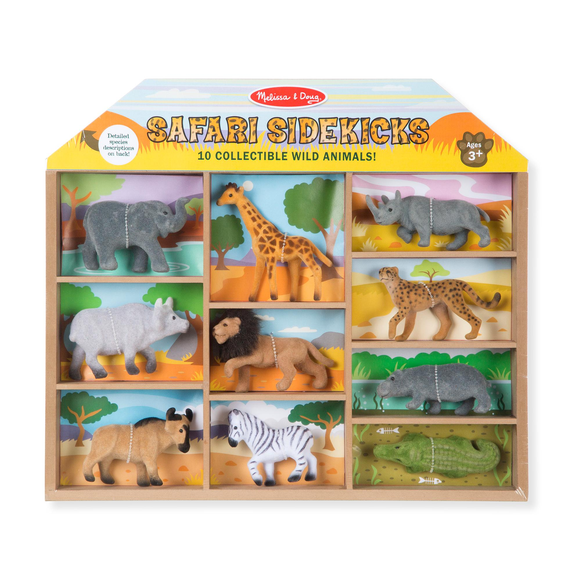 Safari Toys For Boys : Amazon melissa doug safari sidekicks classic play