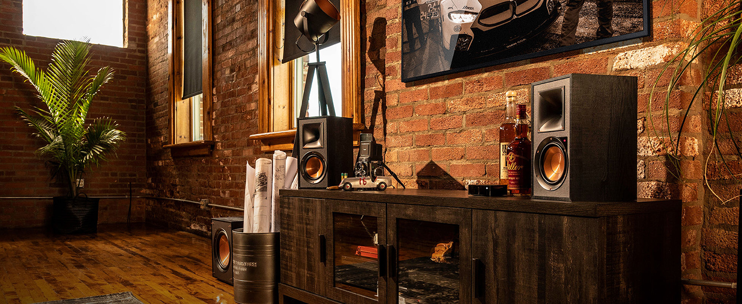 Klipsch, Reference speakers, Powered Monitors, R-41PM, R-51PM
