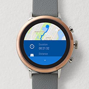 fossil smartwatch; touchscreen smartwatch; touch screen smartwatch; touchscreen smart watch; men's