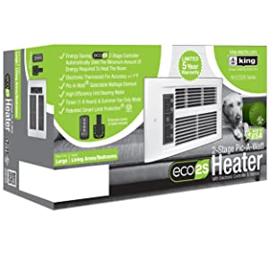 King PX ECO 2-stage heater whisper quiet