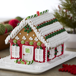 Christmas Gingerbread House Decorations.Wilton Ready To Decorate Giant Gingerbread House Decorating Kit