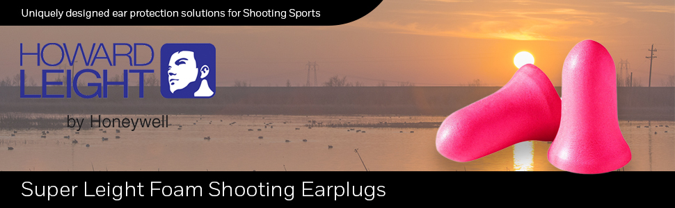 Howard Leight R-84133 Super Leight Single Use Foam Shooting Ear Plugs