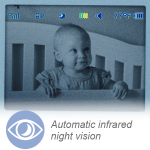 Automatic infrared night vision