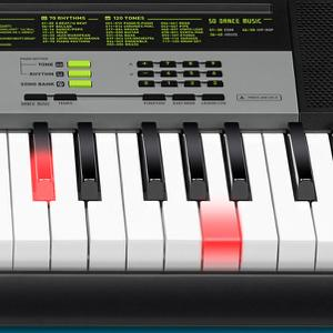 casio lk 135ad key lighting keyboard black musical instruments. Black Bedroom Furniture Sets. Home Design Ideas