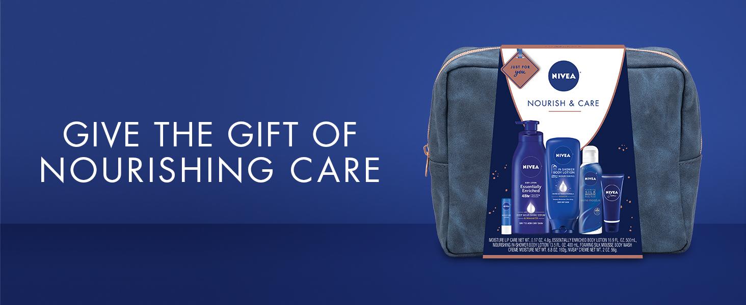 nivea, nivea gift set, gift set for women, beauty gift set, pamper gift set, best gift set