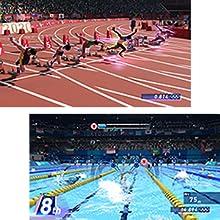 オリンピックの競技を15種目以上収録 簡単操作で爽快プレイ ゲームソフト スポーツゲーム セガ