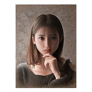 「不屈の瞳」 油彩 F4号