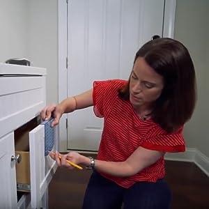 installation template,cabinet hardware