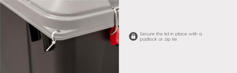 iris storage box, iris container, plastic container, heavy duty container, lockable storage box