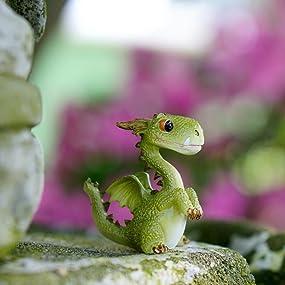 4412 Miniature fairy Garden terrarium mini dragon fantasy