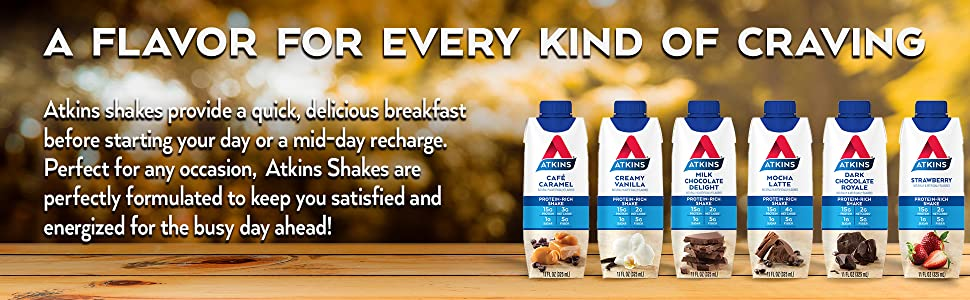 atkins keto friendly protein rich shake low carb