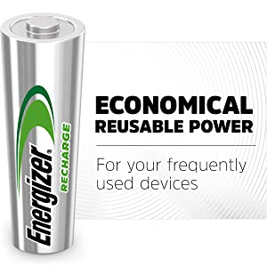 Economical reusable power for your frequently used devices