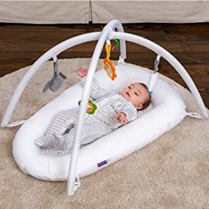 Clevamama Play Arch with Toy Set for ClevaSleep Pod Pod NOT included