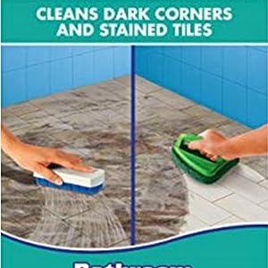 bathroom scrubber
