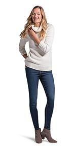LEE Women's Petite Sculpting Slim Fit Skinny Leg Pull On Jean