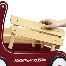 classic walker wagon radio flyer baby push toy walker