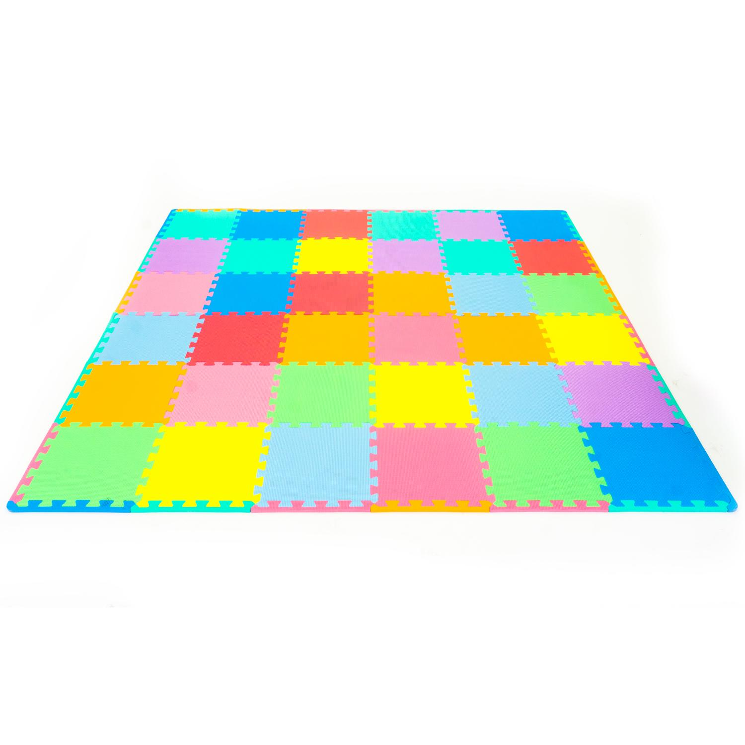 Amazon ProSource Kid s Puzzle Solid Play Mat Sports & Outdoors