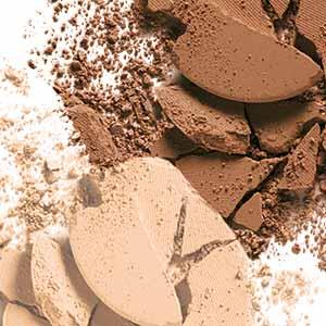 setting powder, face powder, powder brush, powder foundation