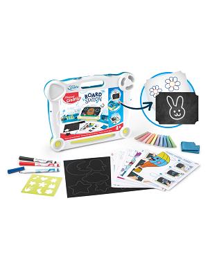 Maped Creativ valise ardoise tableaux noirs et blanc activités créatives enfants