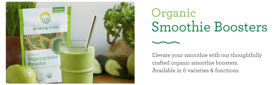 Organic Smoothie Boosters