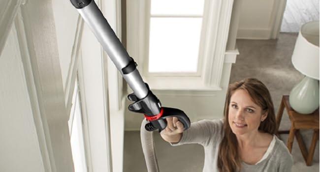 hoover upright bagless vacuum cleaner hepa filter filtration carpet hard floor for pets lightweight