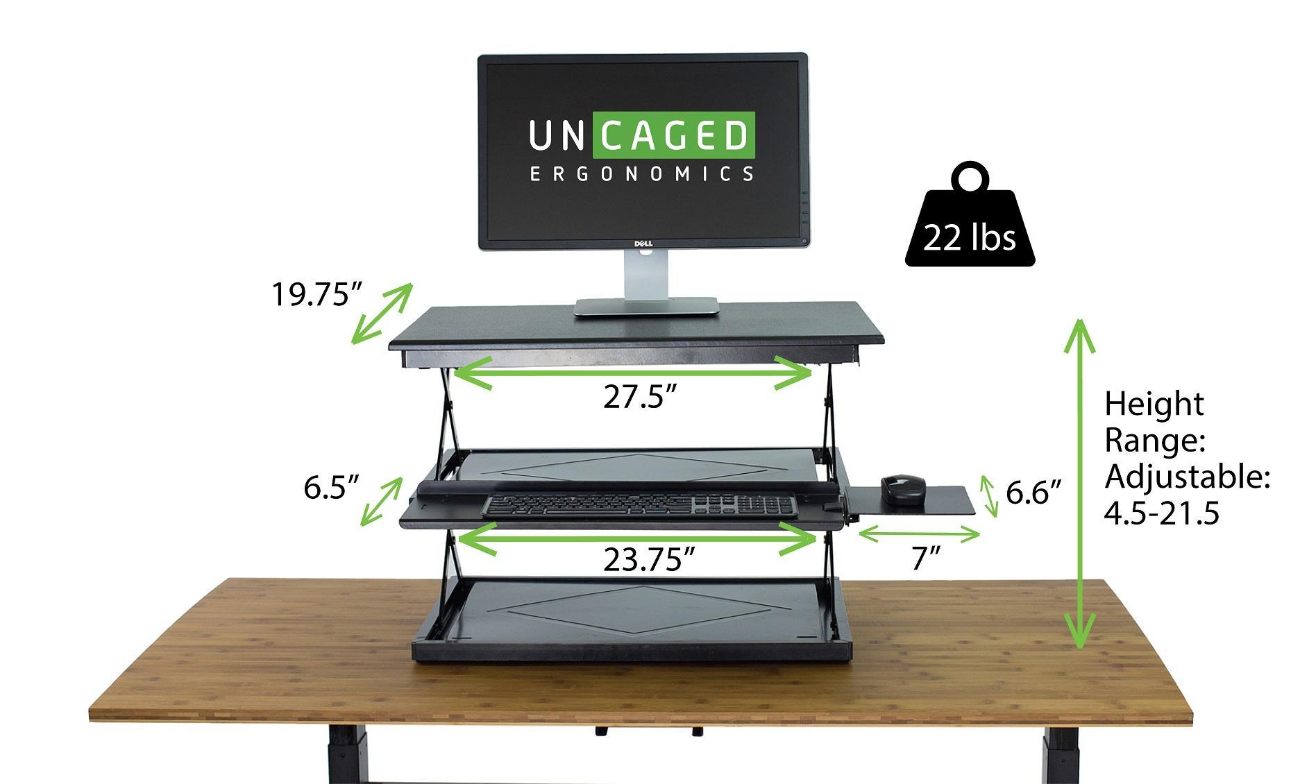 Changedesk Tall Ergonomic Laptop Amp Desktop Standing Desk