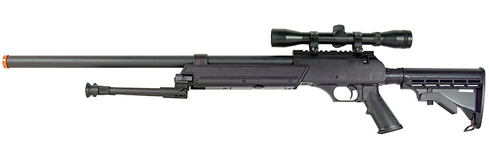 Airsoft Rilfe Loaded with Powerful Spring