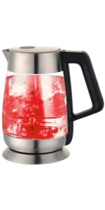 temperature control kettle, electric kettle, glass kettle