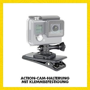 Speedlink Clamp Mount Für Gopro Zubehör Für Kamera