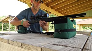 protekto model front bag, gun rest bag, outdoor tac driver, hunting rest, rifle bench rest,range bag