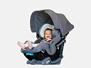 Baby Trend Cover Me 4-in-1 Convertible Car Seat toddler rear facing