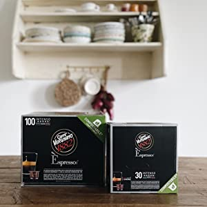caffè vergnano capsule compostabili compatibili nespresso intenso