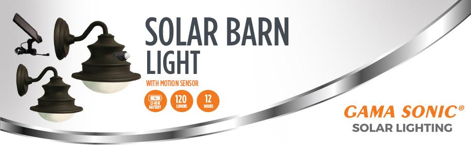 Solar Barn Light