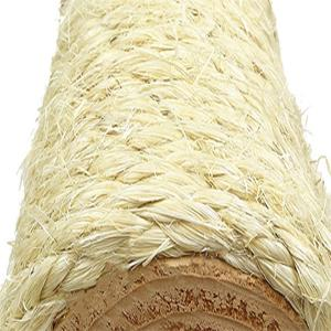 Detailed image of high quality unoiled sisal rope used for our Cat Trees