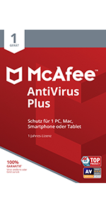 McAfee AntiVirus Plus